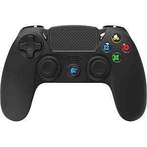 Roar Ασύρματο Gamepad R300WB, Mε vibration, Bluetooth, Gια PS4