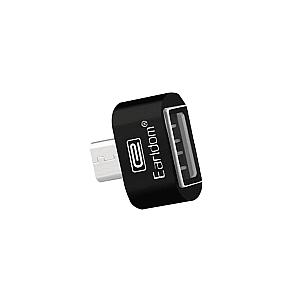 Προσαρμογέας, Earldom, OT03, USB F σε Micro USB, OTG, Άσπρο