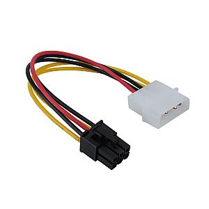 Καλώδιο Ρεύματος 6 Pin, DeTech - 18051