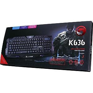 Ενσύρματο Πληκτρολόγιο Gaming Marvo K636