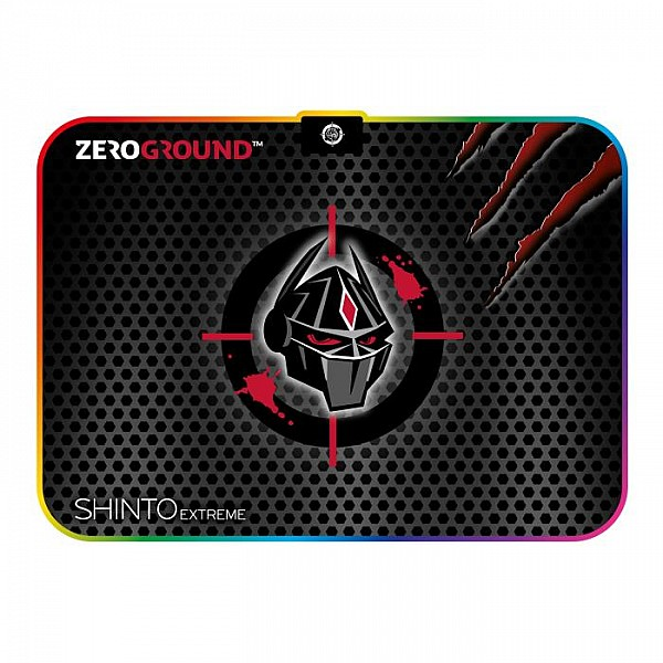 Mousepad Zeroground RGB MP-1900G SHINTO EXTREME v2.0 250x350mm
