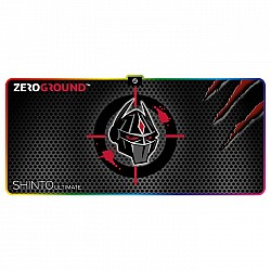 Mousepad Zeroground RGB MP-2000G SHINTO ULTIMATE 400x900mm,