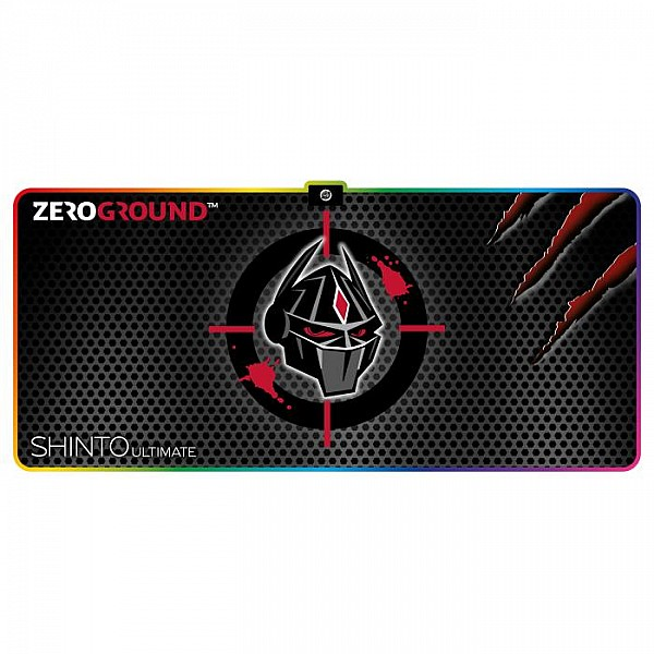 Mousepad Zeroground RGB MP-2000G SHINTO ULTIMATE 400x900mm,