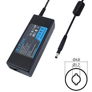 DeTech Τροφοδοτικό Ρεύματος για HP 65W 19.5V/3.33A (4.8*1.7)